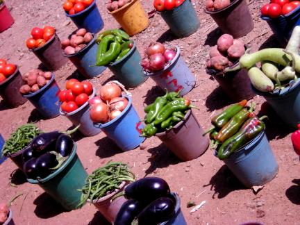 buckets o' produce