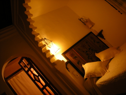 artistic view of room
